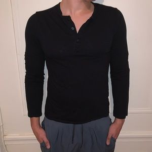 H&M Button-down Long Sleeve Casual